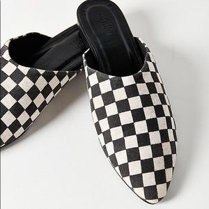 Urban Outfitters Checkered Flats